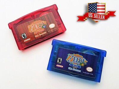 Legend of Zelda - Oracle of Seasons &  Ages  GBA Gameboy Advance Color (USA) comprar usado  Enviando para Brazil
