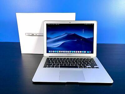 Apple MacBook Air 13 Laptop *BUNDLE* CORE i5 / 3YR WARRANTY / SSD / OS2017 / DVD
