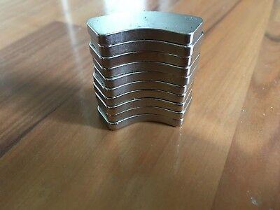 Lot Of 10 Large Neodymium Rare Earth Hard Drive Magnet