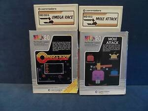 Commodore Vic20 Cartridges X 3 Marion Marion Area Preview
