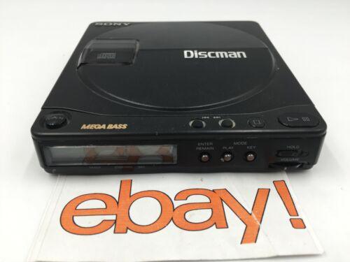 GENUINE Sony D-9 Portable Discman Vintage Audiophile CD Player
