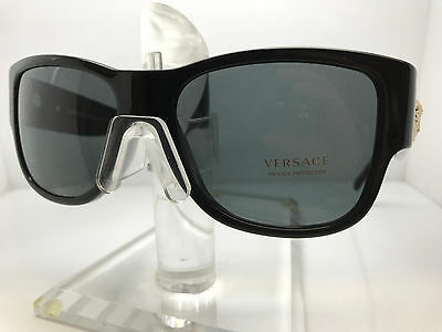 Authentic VERSACE SUNGLASSES VE4275 GB1/87 BLACK/GREY LENS