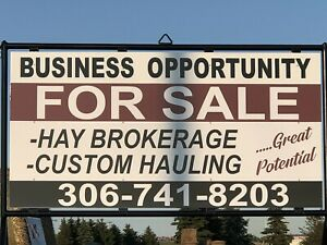Hay/Trucking Business for Sale