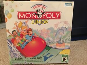 Never opened! Monopoly Junior board game