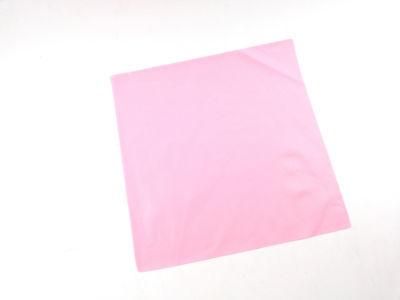 Endodontic Rubber Dam Clamp Sheet Pink Latex Medium 6x6 Adult Hygenic Dental