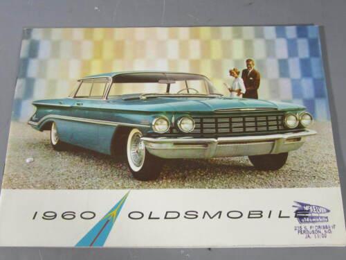 1960 Oldsmobile Sales Brochure