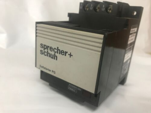 SPRECHER + SCHUH Soft Starter  PGS-009-480V