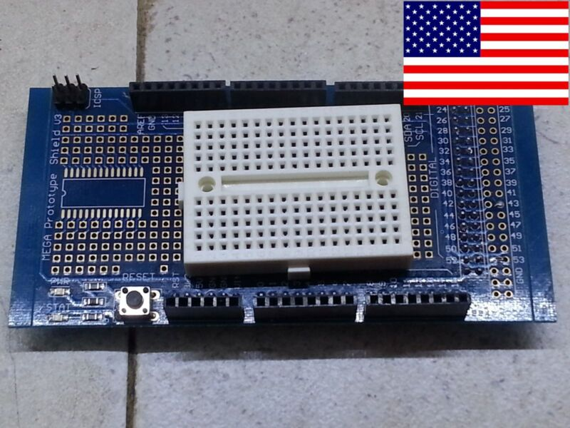 MEGA Prototype Protoshield Shield for Arduino, 170 Pin Breadboard 2560 *US Ship*