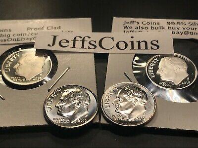 ☆US Dollar 6 Coin Lot☆ Eisenhower Sacagawea Anthony President Proof Innovation
