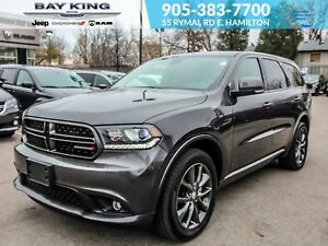 2018 Dodge Durango NAV, BLUETOOTH, SUNROOF, DVD, HEATED SEATS