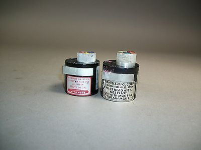 Lot Of 2 Daniels Buchanan Dmc Turret Head Positioner Ms3191-3t Ms3131-9t