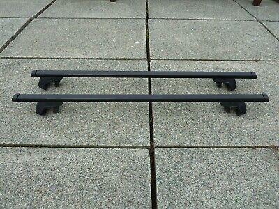 Lockable Aluminium 120cm 90kg Roof Rail Bars /& Car Rack Tray for Volvo V40 95-12