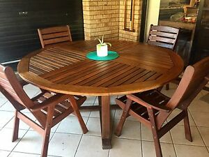 5 pcs timber Outdoor set Ormeau Gold Coast North Preview