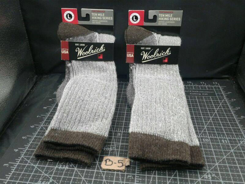 2 Pairs Woolrich Socks Men