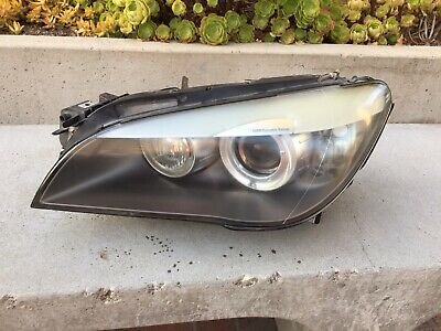 BMW 750 HEADLIGHT LEFT DRIVER 2009 2010 2011 2012 2013 7 SERIES XENON OEM