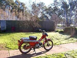 Honda ct110 Posty Bike Dunolly Central Goldfields Preview
