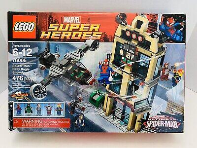 LEGO Marvel Super Heroes Spider-Man Daily Bugle Showdown 76005 Brand New Sealed.