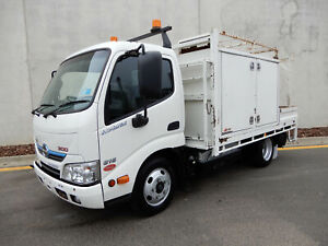 2013 Hino 300 Hybrid  616 Ex Council Service Truck Bell Park Geelong City Preview