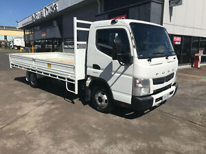 Mitsubishi Canter 515 Wide CANTER 515 STEEL TABLETOP Tray Milperra Bankstown Area Preview