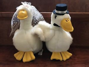 Ganz Bros. The Heritage Collection Plush Duck Bride and Groom