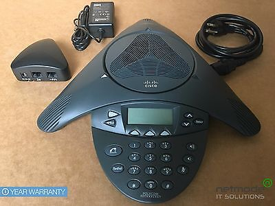 Cisco Cp-7936 Voip Conference Station Phone 7936 W Power Kit Triangle