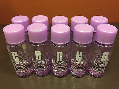 Clinique Take The Day Off Makeup Remover-Lot of 10- New/Fresh- 1.7 oz each