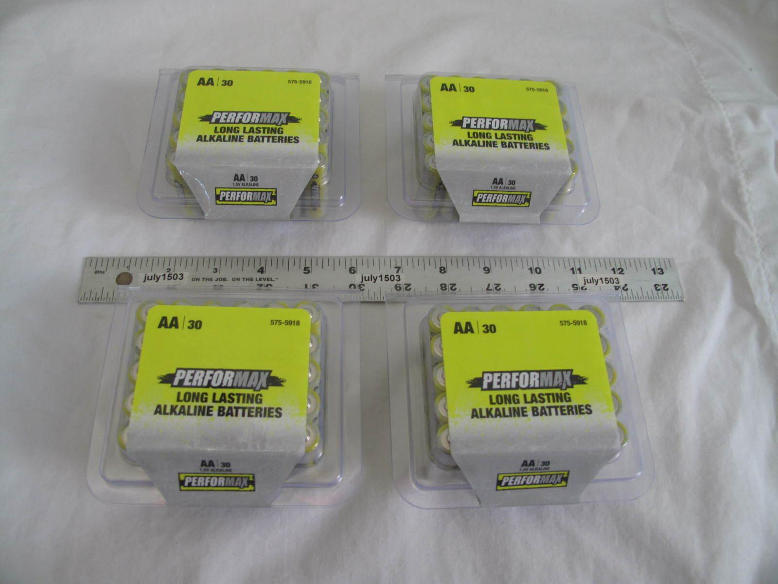 120  AC Delco AA Maximum Power Super Alkaline Batteries