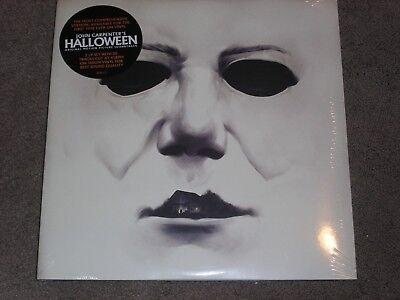 HALLOWEEN soundtrack  2 LP 45 rpm vinyl -- FACTORY SEALED -- John Carpenter (Halloween 2 Vinyl)