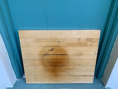 Butcher Block Restaurant Table Top Maple Wood 30l X 24w X 1.75 Thick Hd