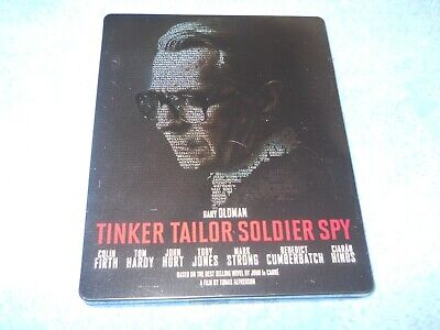 Tinker Tailor Soldier Spy Blu Ray Steelbook Region B Gary