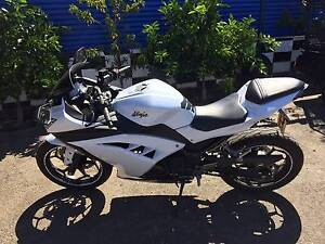 KAWASAKI NINJA 300 2012 WRECK OR RESTORE St Agnes Tea Tree Gully Area Preview