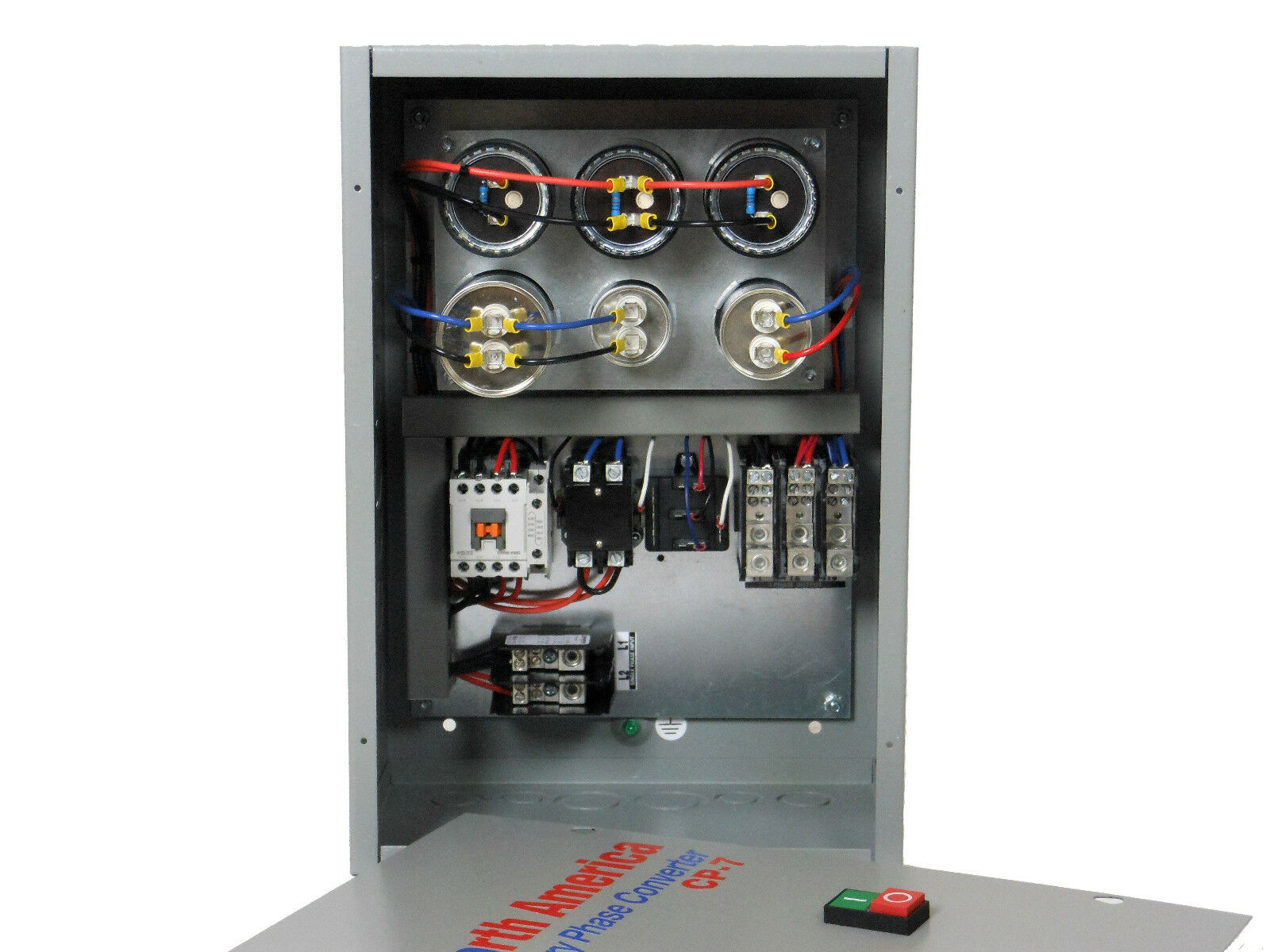 Cp-7 Pro-line 7 5hp Rotary Phase Converter Control Panel