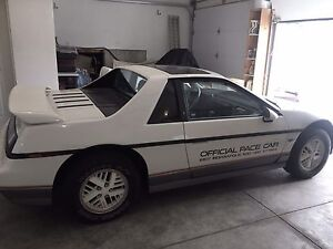 1984 Pontiac Fiero Pace Car Rare only 2000 made