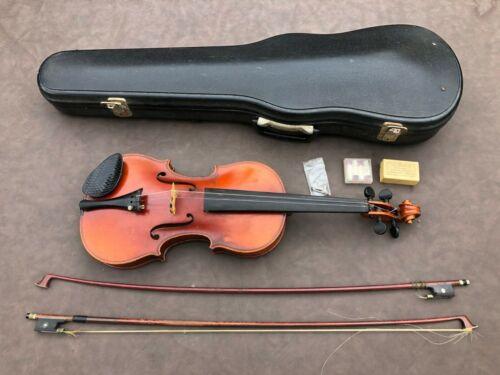 Vintage Ernst Heinrich Roth Stradivarius 4/4 Violin & Tourte Bow
