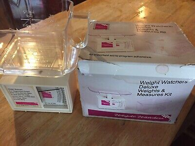 Weight Watchers Food Scale Measuring Cup Weight Loss 1987 Vintage Never Used