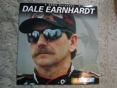 DALE EARNHARDT 2003 CALENDAR  NASCAR