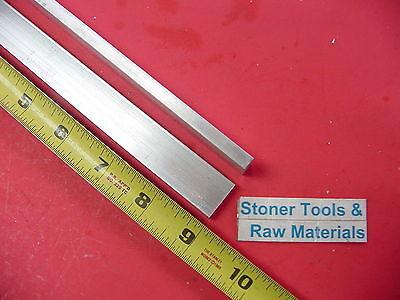 2 Pieces 14 X 34 Aluminum 6061 Flat Bar 9 Long Solid T6511 .25 Mill Stock