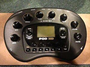 L6 Pod HD500 Guitar/Vocal recording interface
