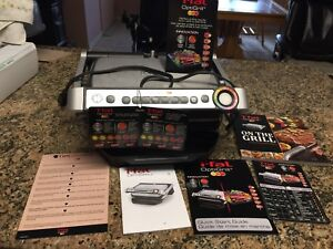 T-FAL ELECTRONIC GRILL IN EXCELLENT CONDITION