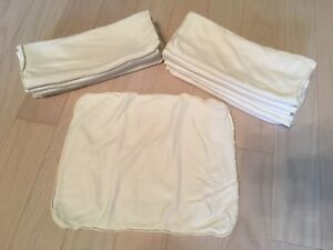 Applecheeks 2-Ply Bamboo Inserts $5 Each (32 Available)