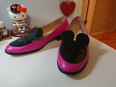 Minna Parikka Hot Pink Mousey Loafers 38