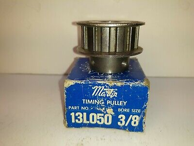 Martin 13l050 Timing Pulley 38 Bore New Old Stock