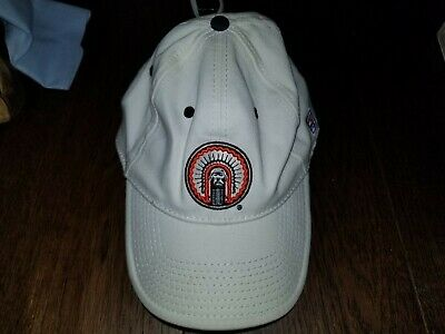 University of Illinois Fighting Illini Chief Baseball Hat One Size White