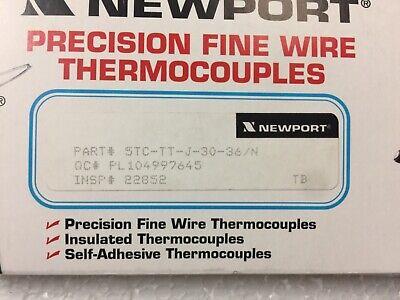 Newport 5tc-tt-j-30-36n Precision Fine Wire Thermocouples 5 Pcs