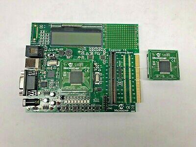 Microchip Explorer 16 Development Board Tsb1g7000 Lcd Module 02-01872-r5.2