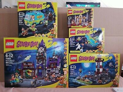 LEGO Scooby-Doo all Sets Mystery Mansion Mystery Machine Mummy Museum NEW