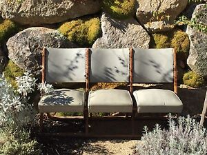 Vintage industrial Architecture Antique Theatre Chairs Berridale Snowy River Area Preview