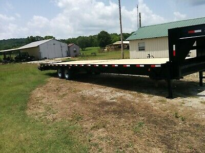 New Gooseneck 355 14000 Gvw Trailer Hot Shot