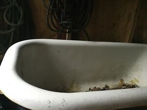 Antique Claw Foot Tub