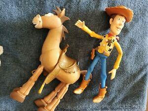 Woody and Bullseye figurines